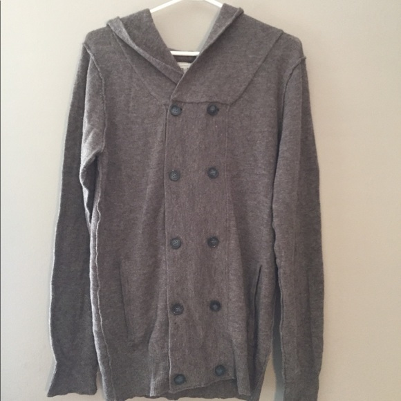 All Saints Other - ALLSAINTS wool&cashmere button hoodie cardigan - M